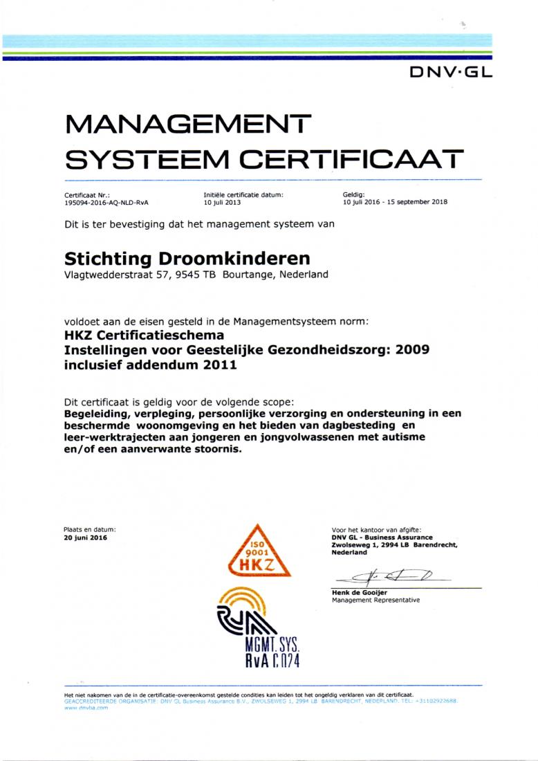 certificaten-dnv